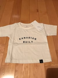 Canadian Built Kids T-Shirt Size 3-6 month Vaughan, R0B