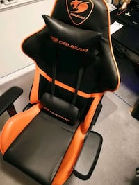 Cougar armour gaming chair like new Vancouver