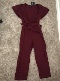 Brand new Burgundy pants suit one piece  Aurora, 80015