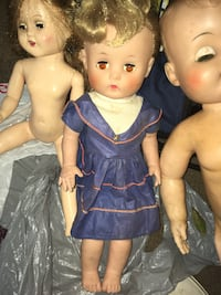 Antique doll glass eye vintage toy collectible  Milwaukee, 53225