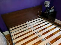 Queen bed with mattress and boxspring  Toronto, M8Y 1W5