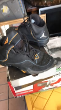 pair of black Nike basketball shoes San Jose, 95110