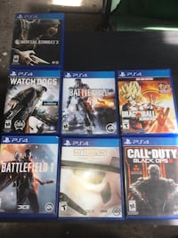 PS4 GAMES FOR THE PRICE OF ONE $65 Compton, 90220