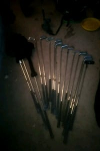 Full golf club set with bag and caryer 552 km