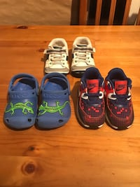 Assorted boys toddler size 5 shoes North Lauderdale, 33068