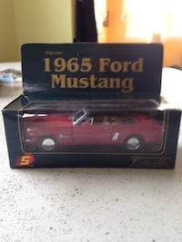1965 Ford Mustang scale model