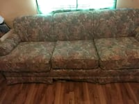 brown and beige floral 3-seat sofa Tucson, 85706