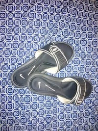 pair of black leather sandals Fresno, 93705