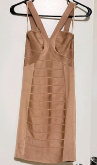 Pre owned French Connection Nude bodycon dress Toronto