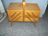 vintage neat sewing stand...firm price... Corbyville