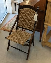 Folding Sewing Chair