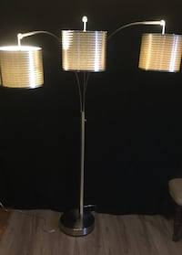 Black and white floor lamp South Bend, 46613