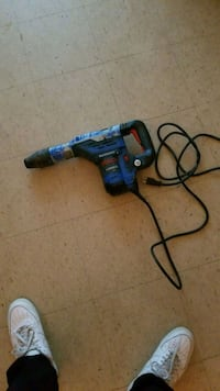 blue and black cordless hand drill Toronto, M5A 2R9