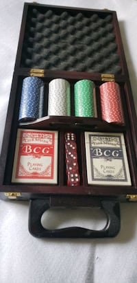 BCG Poker Set with Case