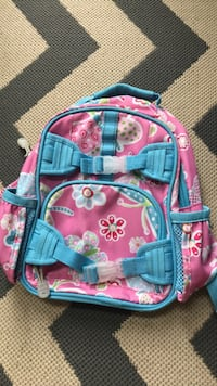 pink and blue floral backpack Ijamsville, 21754