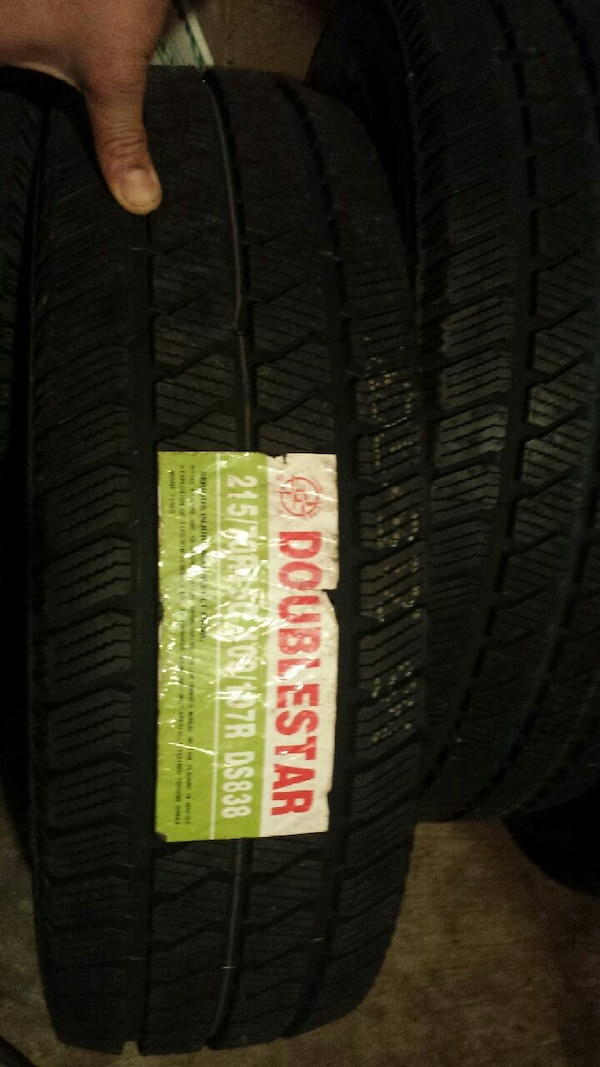 215/70/15 brand new winter tires