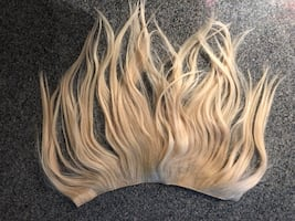 clip in 100% real hair extensions