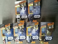 assorted Star Wars character figurine packs Brownsville, 78520