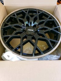 black multi-spoke car wheel Hyattsville, 20783