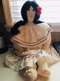30 inch Costa Rican Doll, hand-made Silver Spring, 20904
