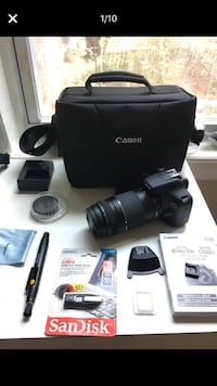 New Canon rebel T6 camera Rockville, 20852