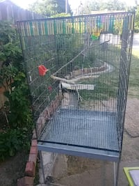 black metal wire pet cage Sacramento, 95822