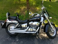 black and silver touring motorcycle West Bend, 53090