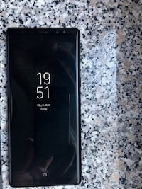 Samsung Galaxy Note 8 - SM-N950F - 64GB - Midnight Black MALMO