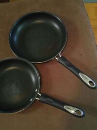 two black-and-grey frying pan Newmarket, L3Y 8M6