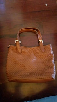 Woven leather beachbag/purse Langley, V2Y 0A6