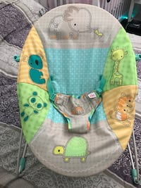 baby's green and blue bouncer Moreno Valley, 92555