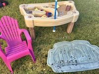 Water and sand table and small chair Edmonton, T6J 5V4