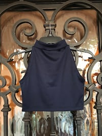 Navy Blue Set: Crop Top and Skirt  South Gate, 90280