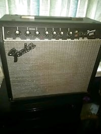 black and gray Fender guitar amplifier Washington