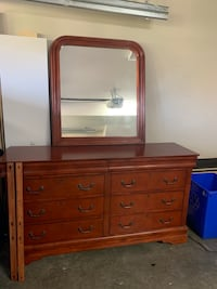 Long Dresser with Mirror  Abbotsford