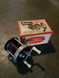 Vintage fishing reel in original box. Edmonton, T5T 6E2