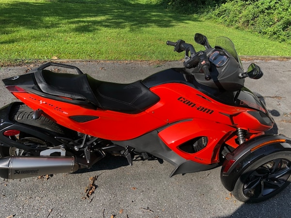 Used 2014 Can Am Spyder Rs S Like New For Sale In Newburg Letgo