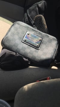 Black and Grey Louis Vuitton Fanny Pack or Cross Body Falls Church, 22031