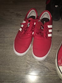 Men red Adidas sneakers size 11 Burnaby, V3J 0A4