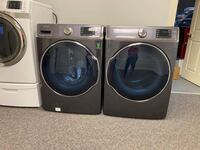 GREY SAMSUNG STEAM XL CAPACITY 7.0 cu ft washer and 9.0 Cu ft Dryer Marvin, 28173
