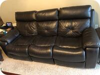 Recliner couch with electric controls