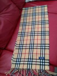 Burberry London lambswool scarf authentic 566 km