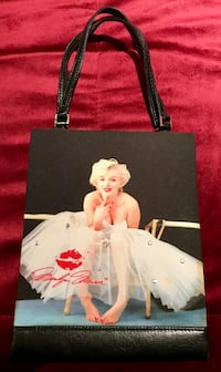 Marilyn Monroe Embellished Collectible Purse Never used