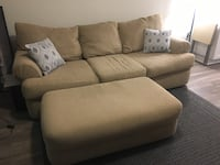Johnson's Furniture Couch with Ottoman. Pickup only, no delivery Charlotte, 28209