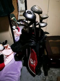 Set of golf clubs with golf bag Edmonton, T5Z 3M9
