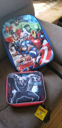Brand New Book Bag and Lunch Pail Belleville