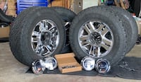 Set of Ford wheels and General Grabber A/T tires Martinsburg, 25403