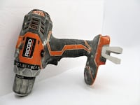 Ridgid Fuego R86008 18V Lithium Ion 1650 RPM Cordless Compact 2 Speed Drill / Driver with LED Grip Light and Keyless Chuck (Battery Not Included, Power Tool Only)  Westerly