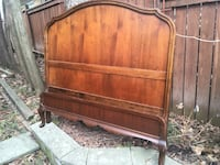 Delivery - antique French country double bed  Toronto, M9B 3C6