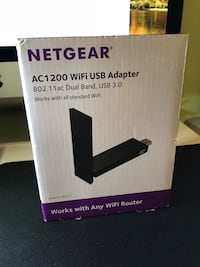 Netgear AC1200 WiFi USB adapter NIB Washington, 20005